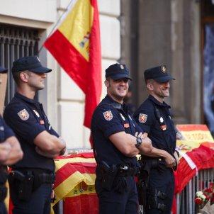 policia espanyola manifestacio unionista mireia comas 4