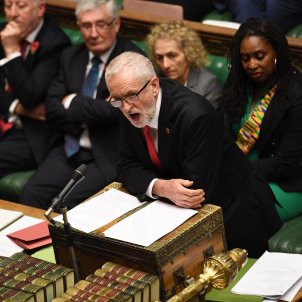 Jeremy Corbyn westminster - efe