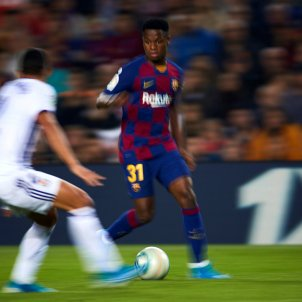 Ansu Fati Barça Valladolid EFE