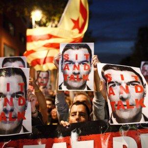 Protesta CDR Pedro Sánchez Viladecans - Mireia Comas