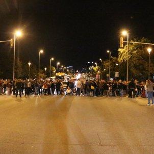 CArrecs electes tallen diagonal Barcelona - ACN