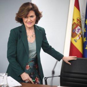 Carmen Calvo consell Ministres Moncloa Europa Press