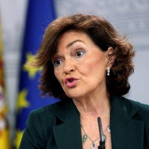 Carmen Calvo consell Ministres Moncloa EFE