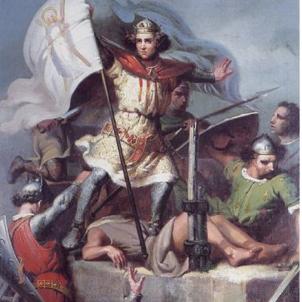 Ramon Berenguer III, representació de Marià Fortuny (1857) (Viquipèdia)