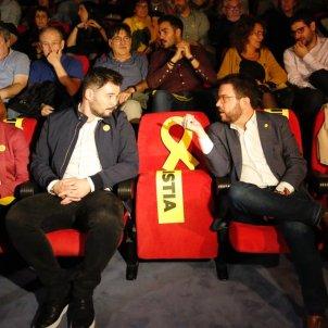 ELNACIONAL Gabriel Rufián Pere Aragonès  ERC acte inici campanya 10N - Sergi Alcàzar