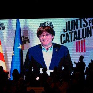 EL NACIONAL carles puigdemont acte inici campanya jxcat - mireia comas