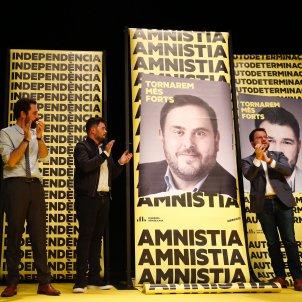 Acte inici campanya 10N ERC Aragonès Torrent Rufián - Sergi Alcàzar