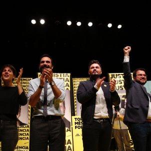 Acte inici campanya 10N ERC Aragonès Torrent Rufián Rosique - Sergi Alcàzar