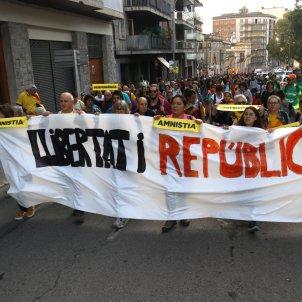 Marxa per la Llibertat Figueres Puig de les Basses ACN