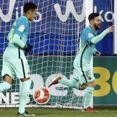 Messi Neymar Ipurua EFE