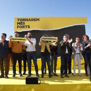 Foto família acte central ERc a Lledoners Mireia Comas