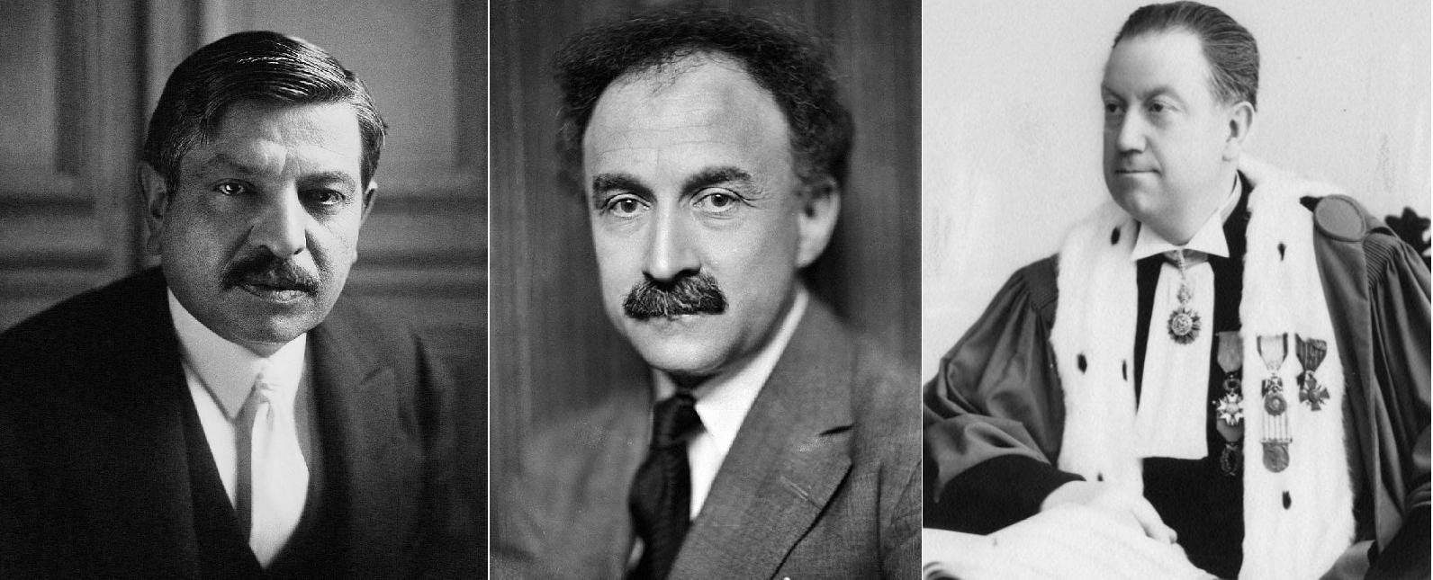 Laval, Bonnard y Gabolde.  fuente Viquipedia