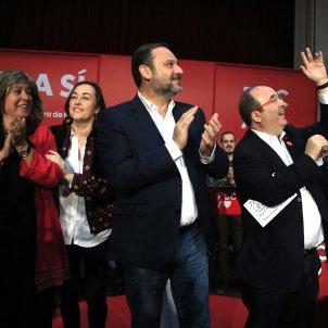 Miquel Iceta José Luis Ábalos Núria Marín PSC ACN