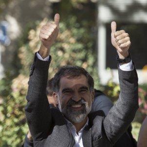 Jordi Cuixart surt de l'AN GTRES