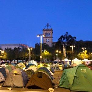 Acampada Barcelona plaça Universitat generació 14 O Europa Press