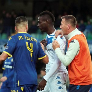 Balotelli Brescia Verona racisme EFE