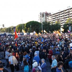 EL NACIONAL protesta cdr rei barcelona palau de congressos - mireia comas