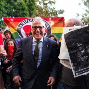 Josep Bou manifestants cdr palau congressos acte felip VI - Mireia Comas