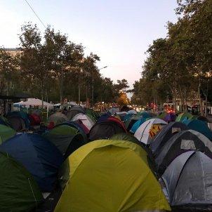 Acampada Barcelona plaça Universitat generació 14 O Europa Press (2)