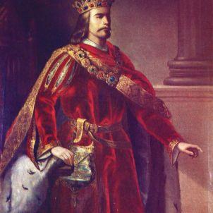 Alfons III. Representació pictórica del segle XIX.