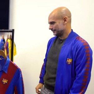 Pep Guardiola Barca retro samarreta @btsport