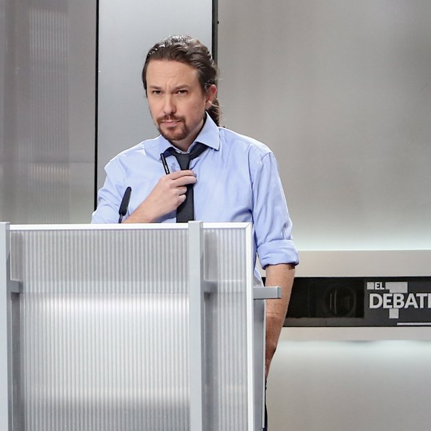 Pablo Iglesias debate Europa Press