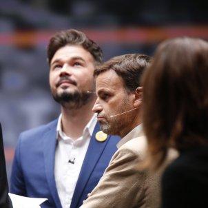Debat candidats eleccions 10-N Gabriel Rufian Jaume Asens Sanchis TV3 - Sergi Alcàzar