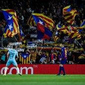 Barca Slavia Camp Nou estelades Champions Europa Press