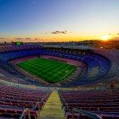 Camp Nou sol Barca @ChampionsLeague