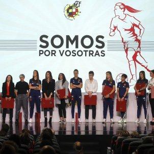 Luis Rubiales jugadores futbol femeni EFE