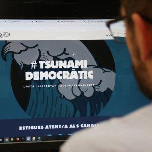 web tsunami democràtic   ACN