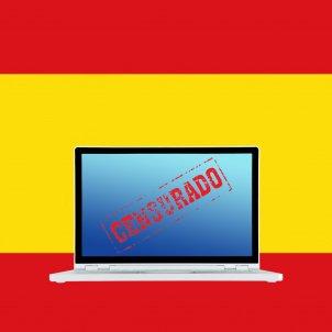 Censura España