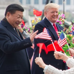 Trump i Xi Jinping - Flickr