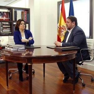 Soraya Saenz de Santamaria-PP-Oriol Junqueras-ERC-efe
