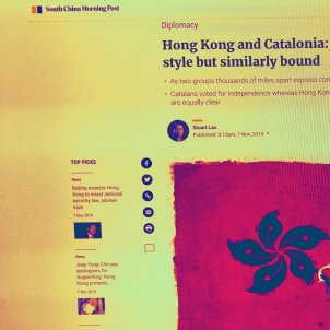 South China Morning Post Catalunya Hong Kong