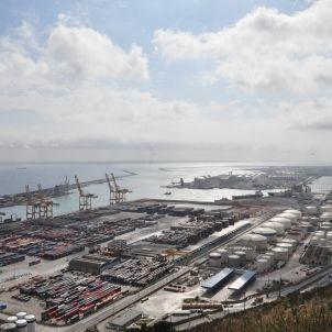 port barcelona flickr