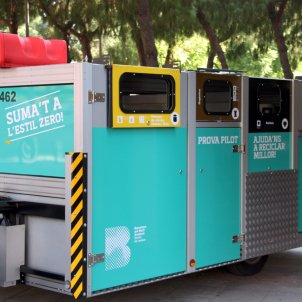recollida residus reciclatge Bon Pastor Barcelona ACN