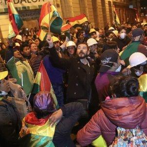 Revolta policial Bolívia - EFE