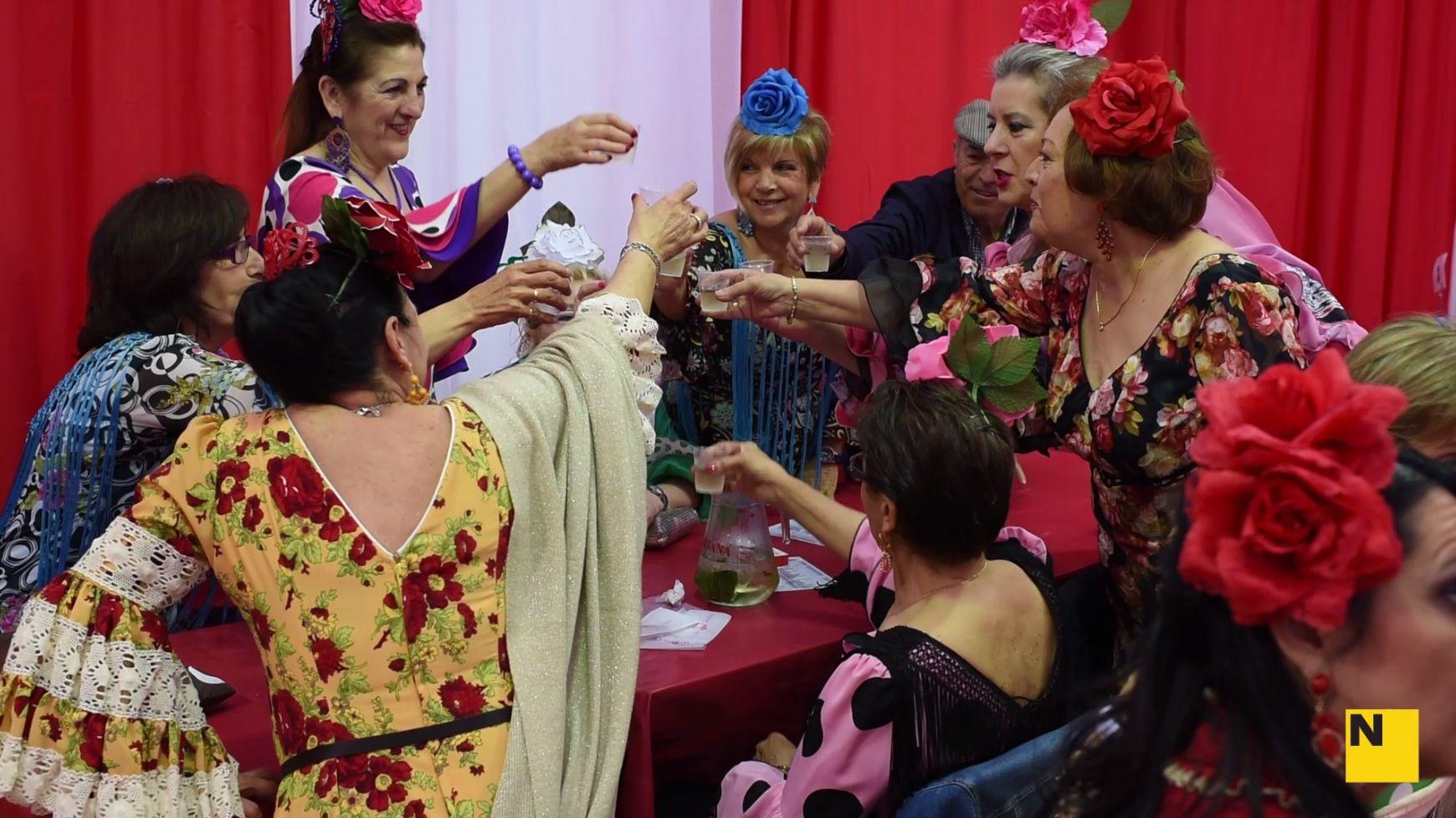 La feria de abril en catalunya empieza el viernes con for Ferias barcelona hoy