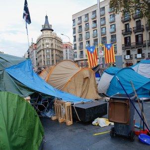 acte tsunami democratic jornada reflexio plaça universitat acampada - Sergi Alcàzar