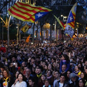 acte tsunami democratic jornada reflexio plaça universitat - Sergi Alcàzar