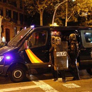 EL NACIONAL policia espanyola manifestacio cdr jornada reflexio - sergi alcazar