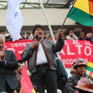 Evo Morales president Bolívia - EFE