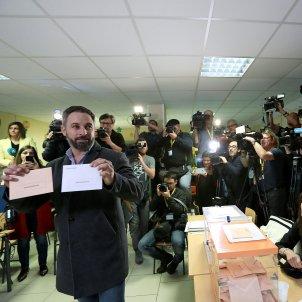Santiago Abascal eleccions 10 N   EFE