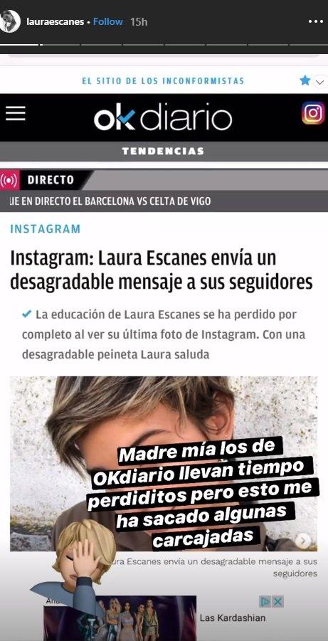 Furia De Laura Escanes Contra El Diario De Eduardo Inda Se
