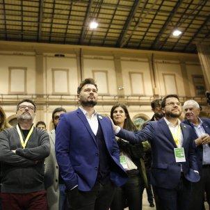 Nit electoral 10-N ERC Pere Aragonès Rufian Maragall Marta Vilalta El Homrani Nuet - Sergi Alcàzar