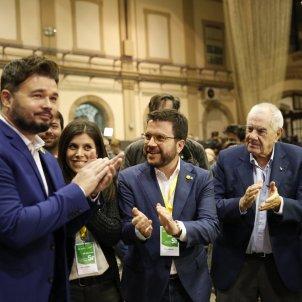 Nit electoral 10-N ERC Pere Aragonès Rufian Maragall Marta Vilalta El Homrani - Sergi Alcàzar