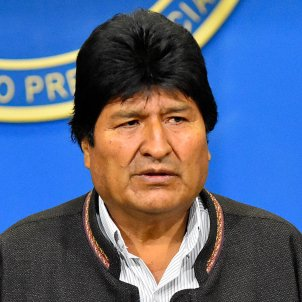 Evo Morales dimite Efe
