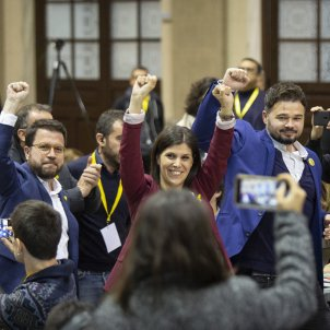 Nit electoral 10 N ERC Aragones Vilalta Rufian - Sergi Alcàzar