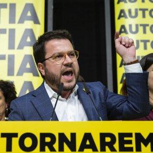 Nit electoral 10-N ERC Pere Aragonès - Sergi Alcàzar
